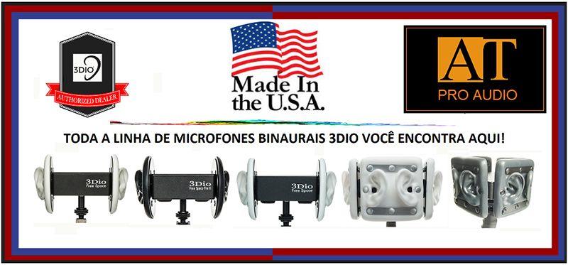 MICROFONE BINAURAL 3DIO OMNI PRO