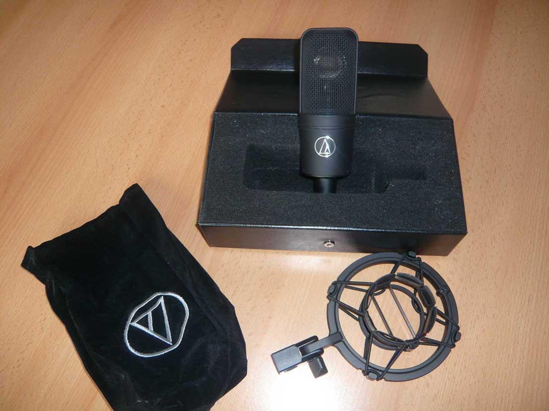 MICROFONE CONDENSER AUDIO-TECHNICA AT4040