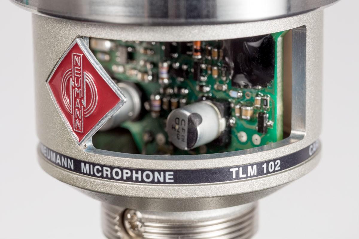 MICROFONE CONDENSER NEUMANN TLM102 STUDIO SET