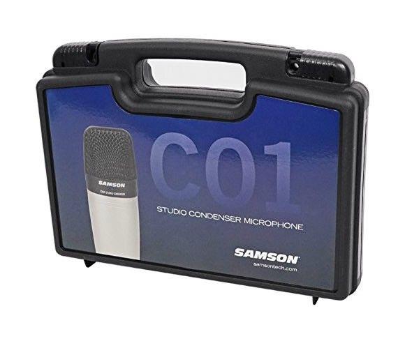 MICROFONE CONDENSER SAMSON C01