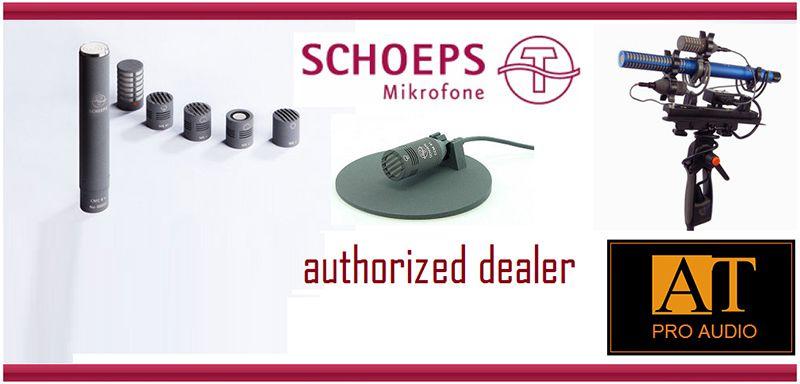 MICROFONE CONDENSER SCHOEPS V4 SGV SET