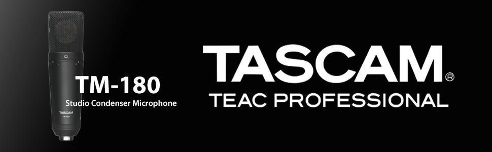 MICROFONE CONDENSER TASCAM TM-180