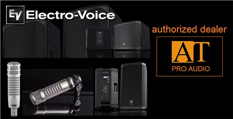 MICROFONE DINÂMICO ELECTRO-VOICE RE20