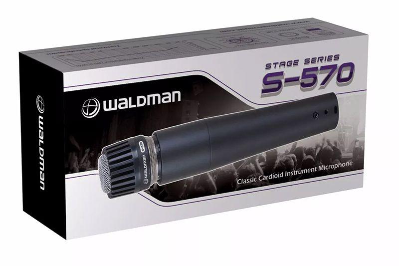 MICROFONE DINÂMICO WALDMAN STAGE S-570