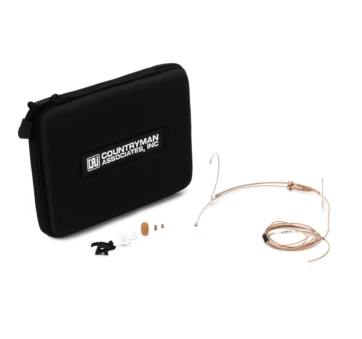 MICROFONE HEADSET COUNTRYMAN H6 TA4F (SHURE/BEYERDYNAMIC)