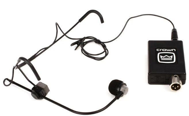 MICROFONE HEADSET CROWN CM311A (XLR)