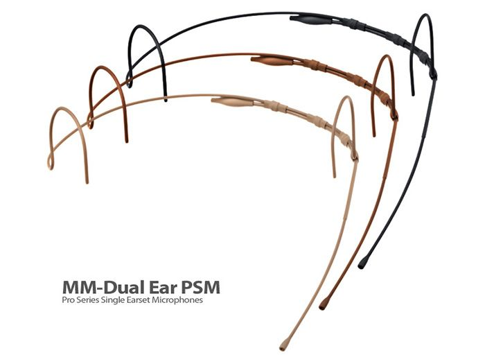 MICROFONE HEADSET MICROPHONE MADNESS MM-DUAL EAR PSM