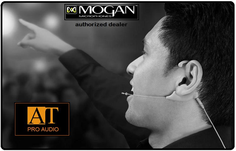 MICROFONE HEADSET MOGAN EAO-BG-AT (AUDIO-TECHNICA)