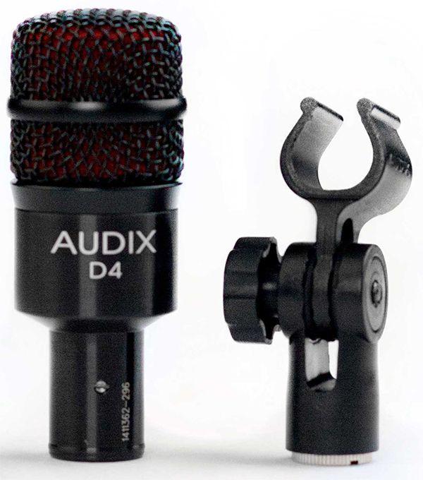 MICROFONE P/INSTRUMENTOS AUDIX D4
