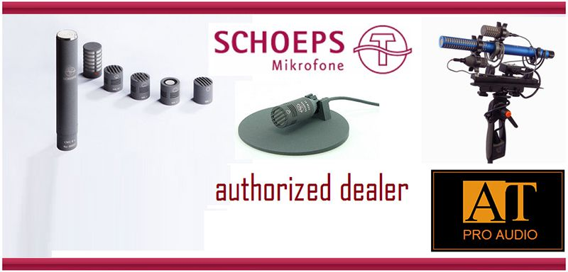 MICROFONE P/INSTRUMENTOS SCHOEPS COLETTE MATCHED PAIR