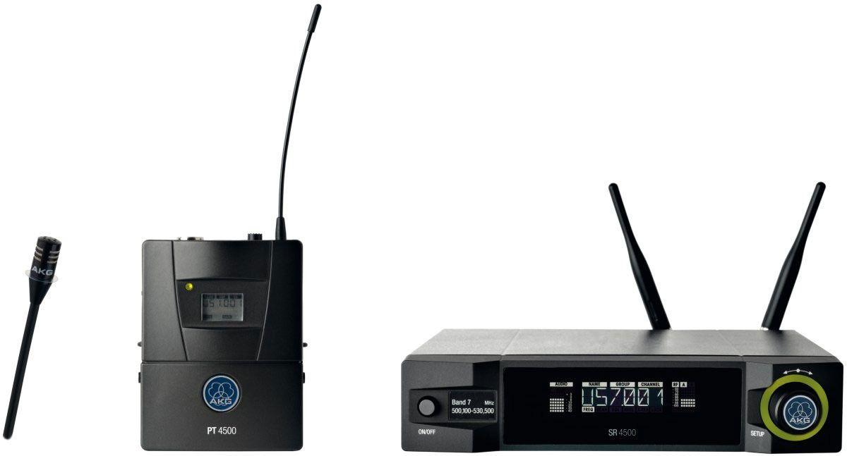 MICROFONE S/FIO LAPELA AKG WMS4500/CK77