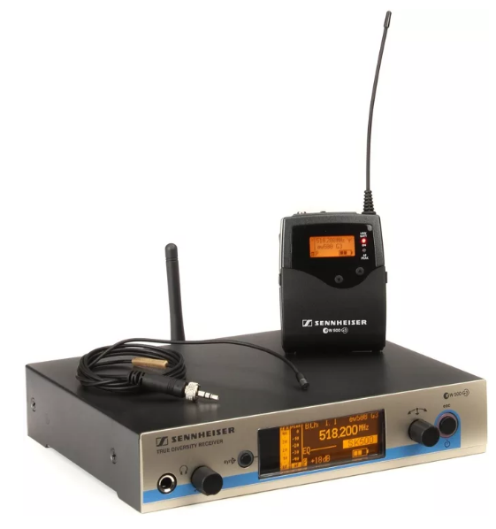 MICROFONE S/FIO LAPELA SENNHEISER EW512 G3