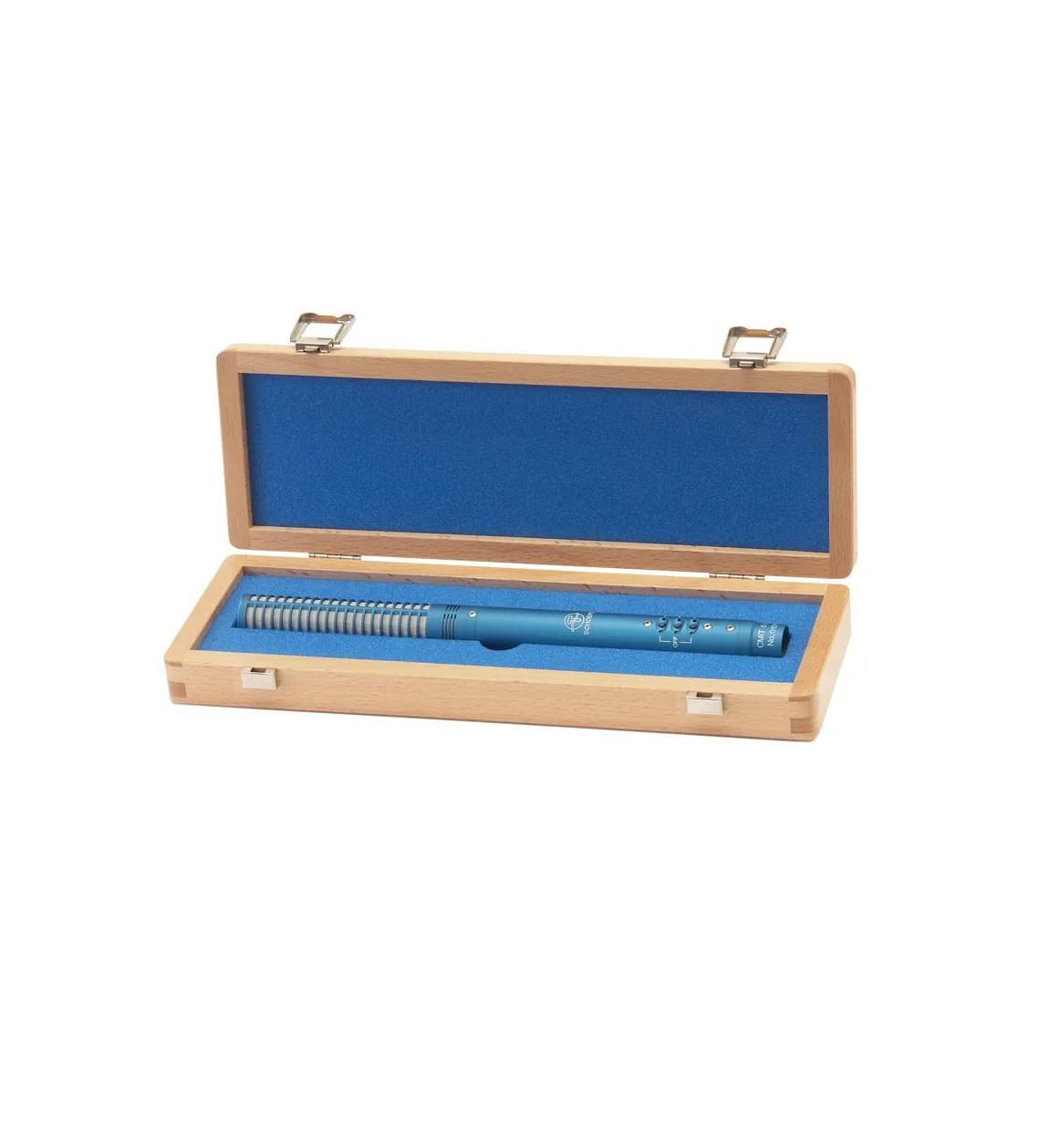 MICROFONE SHOTGUN SCHOEPS CMIT 5U BLUE