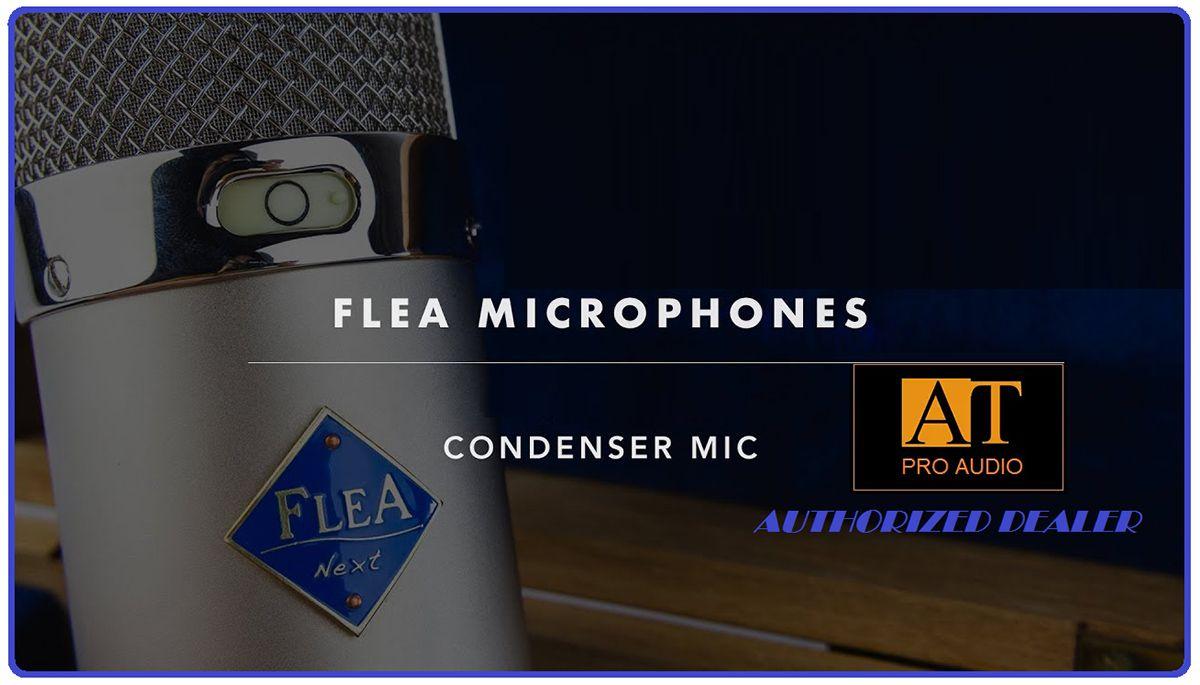 MICROFONE VALVULADO FLEA MICROPHONES 47 SUPERFET