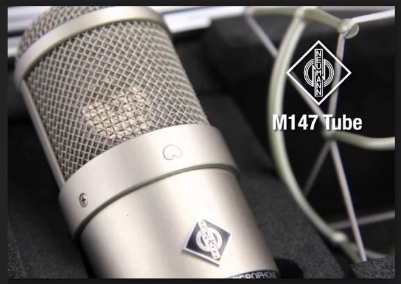 MICROFONE VALVULADO NEUMANN M147 TUBE