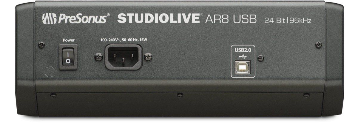MÍXER ANALÓGICO/ INTERFACE USB PRESONUS STUDIOLIVE AR8