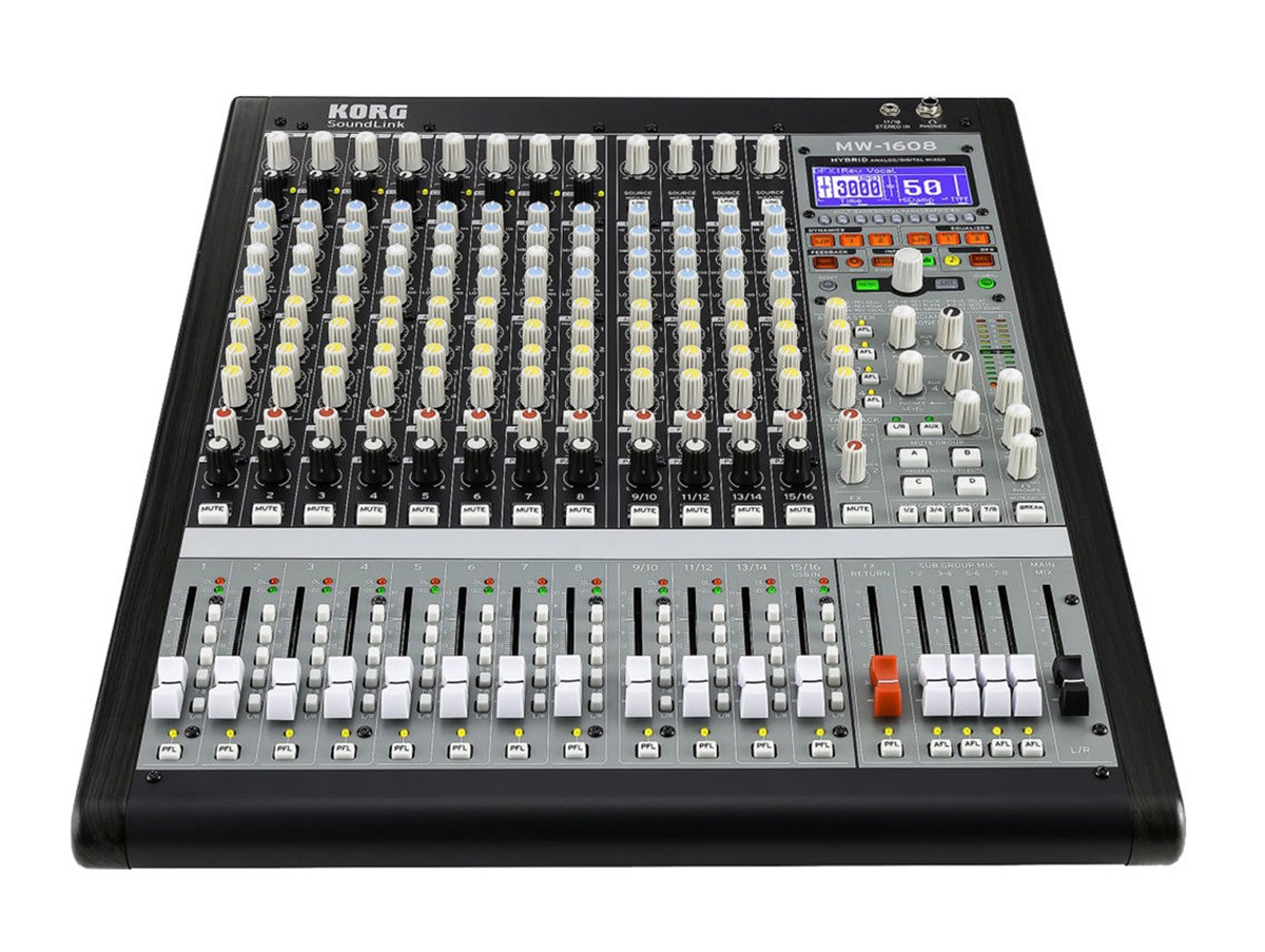 MÍXER ANALÓGICO/DIGITAL KORG SOUNDLINK MW-1608
