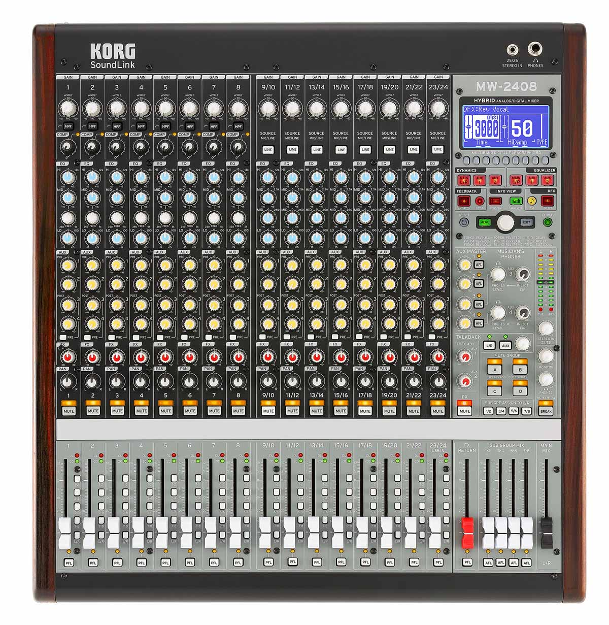 MÍXER ANALÓGICO/DIGITAL KORG SOUNDLINK MW-2408