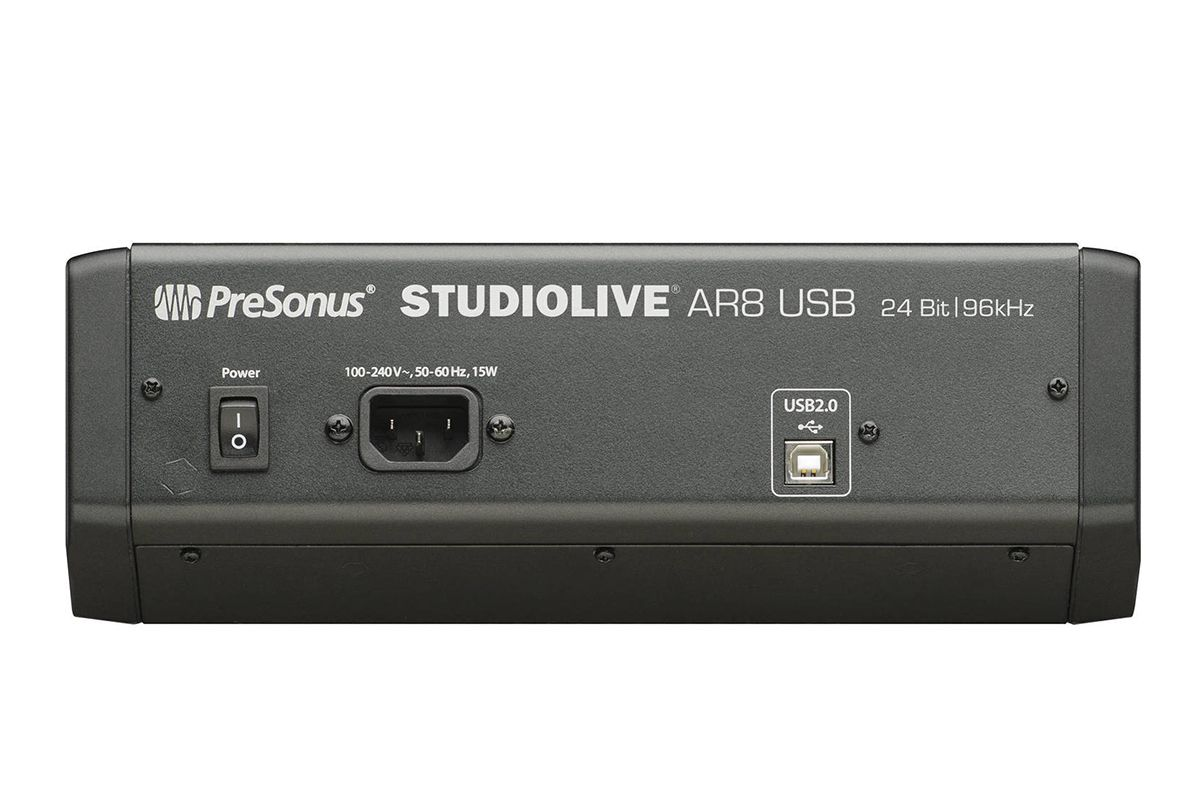MÍXER ANALÓGICO / INTERFACE USB PRESONUS STUDIOLIVE AR8