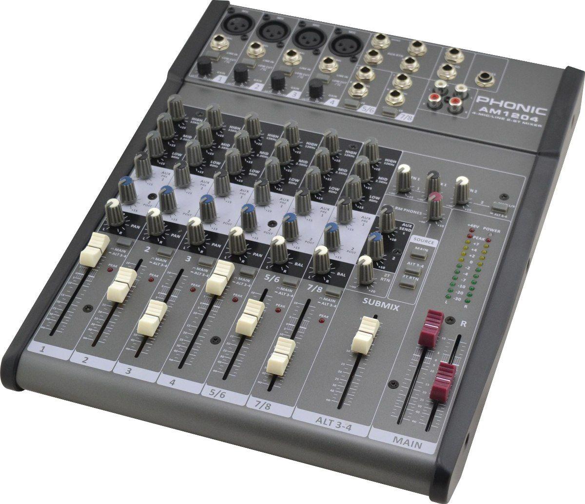 MÍXER ANALÓGICO PHONIC AM1204