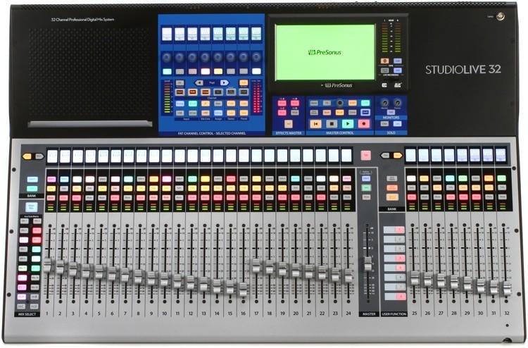 MÍXER DIGITAL PRESONUS STUDIOLIVE 32 SERIES III