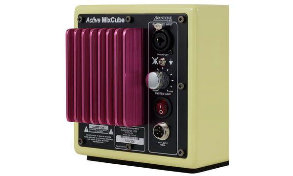 MONITOR ATIVO AVANTONE PRO MIXCUBE POWERED RETRO-CREAM