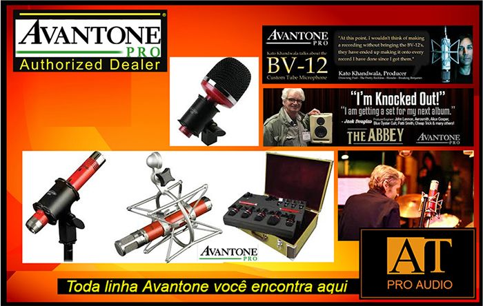 MONITOR DE ESTÚDIO ATIVO AVANTONE PRO MIXCUBE POWERED BLACK