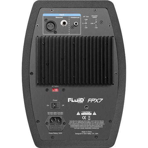 MONITOR DE ESTÚDIO ATIVO FLUID AUDIO FPX7