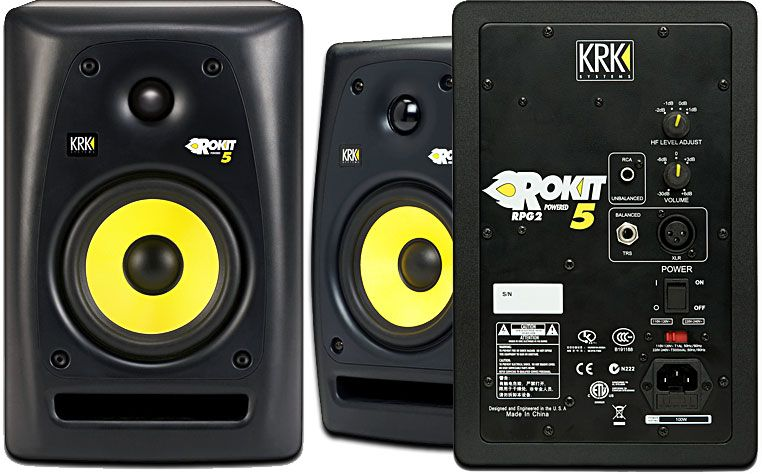 MONITOR DE ESTÚDIO ATIVO KRK ROKIT 5 G3