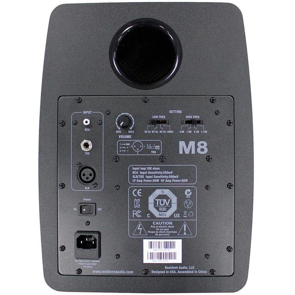 MONITOR DE ESTÚDIO ATIVO RESIDENT AUDIO M8