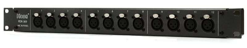 PATCHBAY HOSA PDR-369