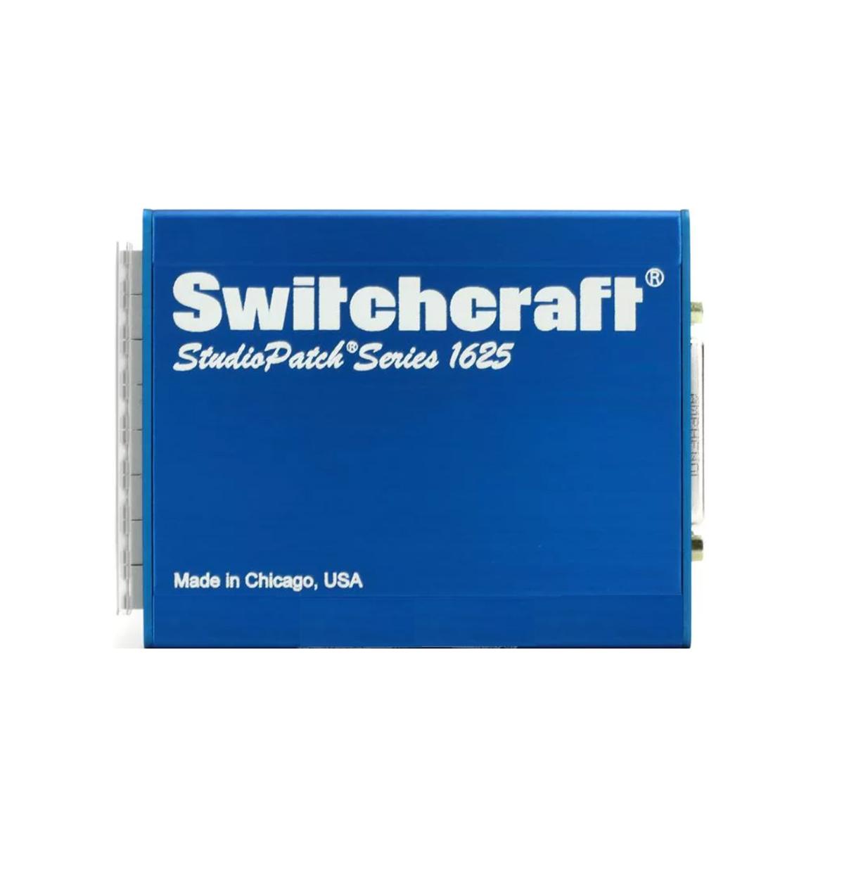 PATCHBAY TT BANTAM / DB25 SWITCHCRAFT STUDIO PATCH 1625