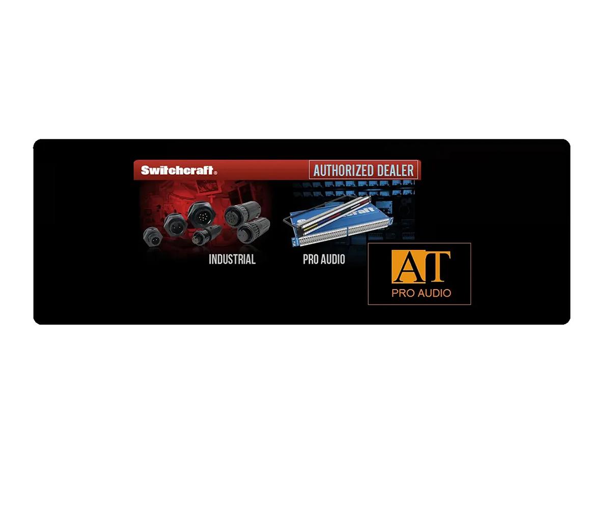 PATCHBAY XLR MACHO / DB25 SWITCHCRAFT PT16MX2DB25