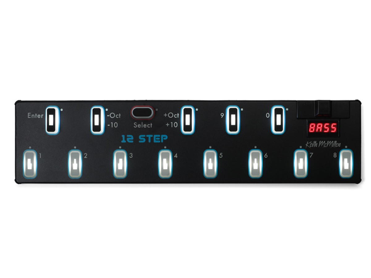 PEDAL FOOTCONTROL KEITH MCMILLEN INSTRUMENTS 12 STEP