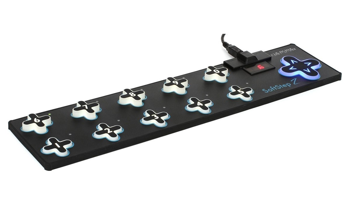 PEDAL FOOTCONTROL KEITH MCMILLEN INSTRUMENTS SOFTSTEP 2