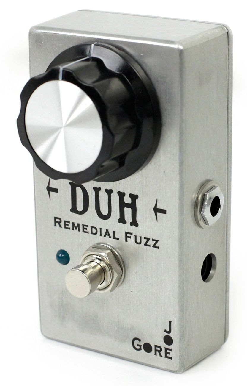 PEDAL P/GUITARRA JOE GORE DUH REMEDIAL FUZZ
