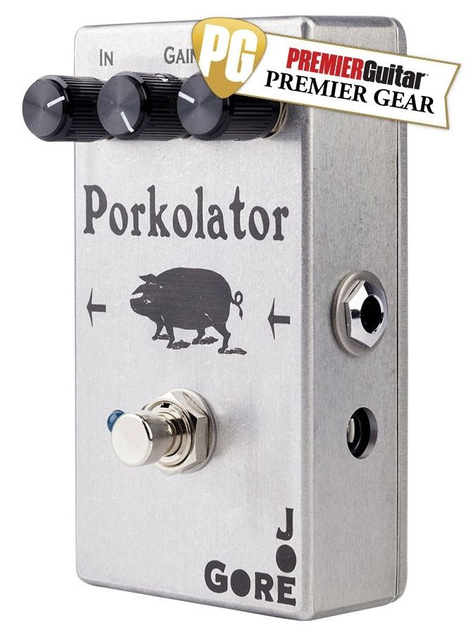 PEDAL P/GUITARRA JOE GORE PORKOLATOR DISTORCION
