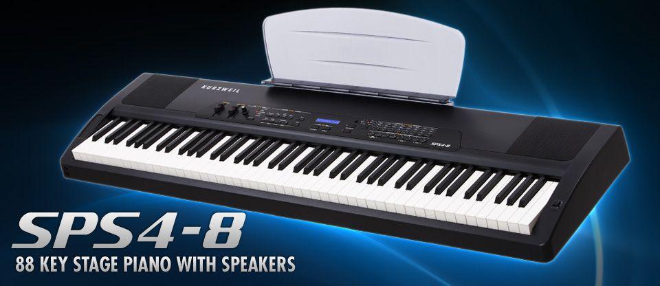 PIANO DIGITAL KURZWEIL SPS4-8