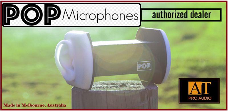 MICROFONE BINAURAL POP MICROPHONES DUOPOP