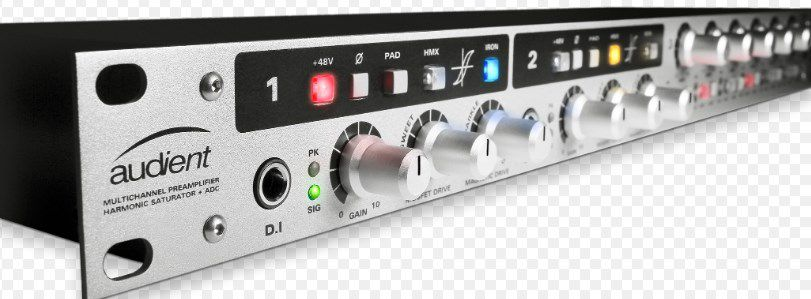 PREAMP P/MICROFONE AUDIENT ASP800