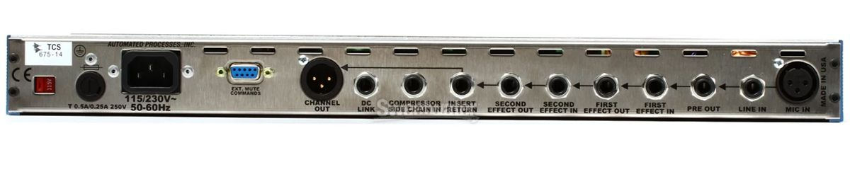 PREAMP P/MICROFONE API THE CHANNEL STRIP