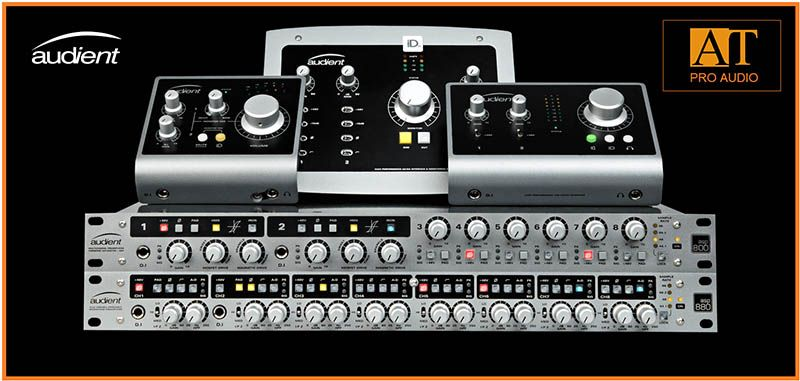PREAMP P/MICROFONE AUDIENT ASP880