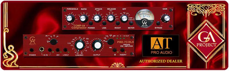 PREAMP P/MICROFONE / DIRECT BOX GOLDEN AGE PROJECT PRE-73 MKIII