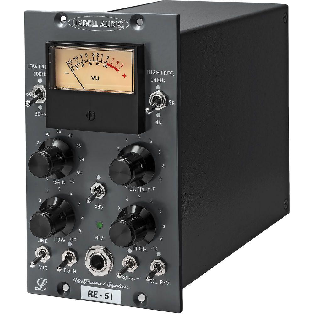 PREAMP P/MICROFONE / EQ 500 SEREIS LINDELL AUDIO RE-51