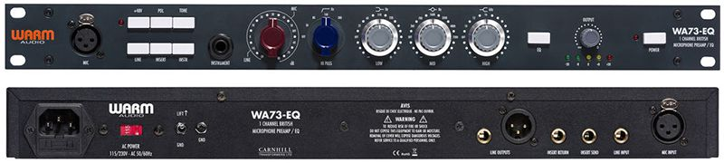 PREAMP P/MICROFONE / EQ WARM AUDIO WA73-EQ