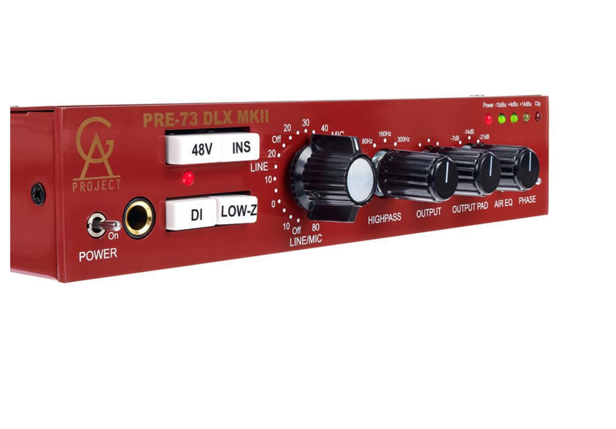 PREAMP P/MICROFONE GOLDEN AGE PROJECT PRE-73 DLX MKII