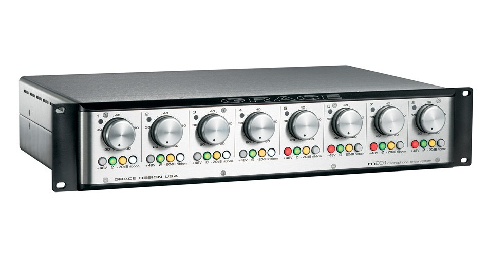 PREAMP P/MICROFONE GRACE DESIGN M801