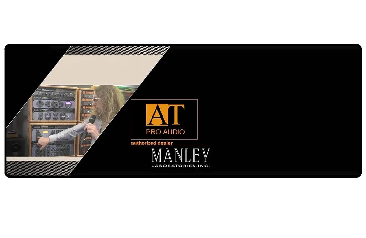 PREAMP P/MICROFONE MANLEY SLAM!