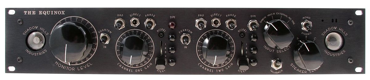 PREAMP P/MICROFONE SHADOW HILLS INDUSTRIES THE EQUINOX / POWER SUPPLY