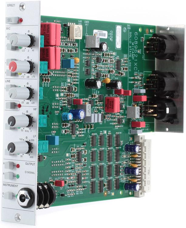 PREAMP P/MICROFONE SOLID STATE LOGIC XR621 X-RACK MIC PRE